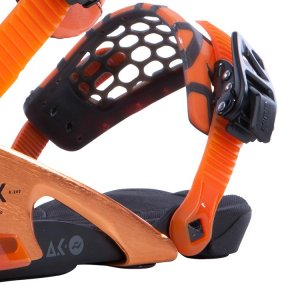 Ride x Akomplice Colaaboration, rubber eb toe strap, and  Astroglide ratchets